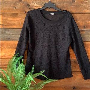 Ladies long sleeve sweater